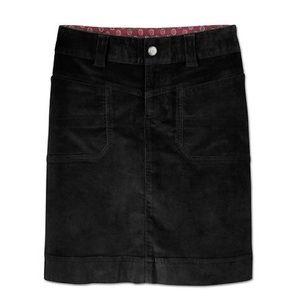 Athleta Washed Velvet Skirt Size 4